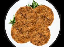 Hambúrguer de Triguilho com Azeitonas e tomate seco  - Foto 1