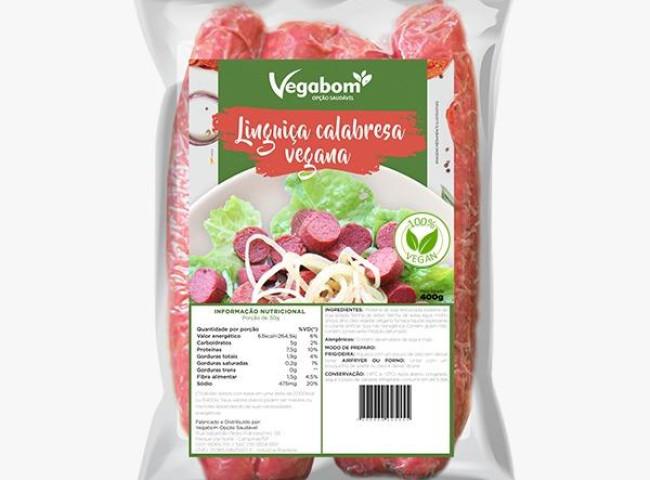 Detalhes do produto Linguiça Calabresa Vegana